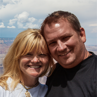 Dave and Deb from ThePlanetD